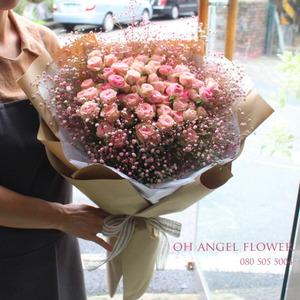 자나장미 꽃다발