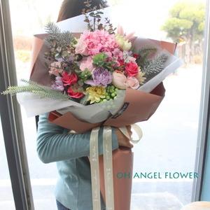 프리저브드 & 비누꽃 대형꽃다발2 (대전만 가능)